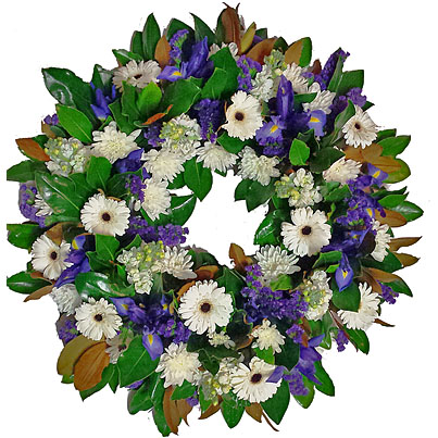 how to make a funeral wreath