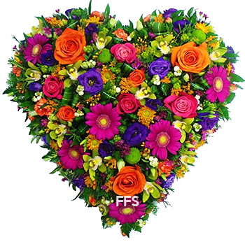Colourful Heart Tribute