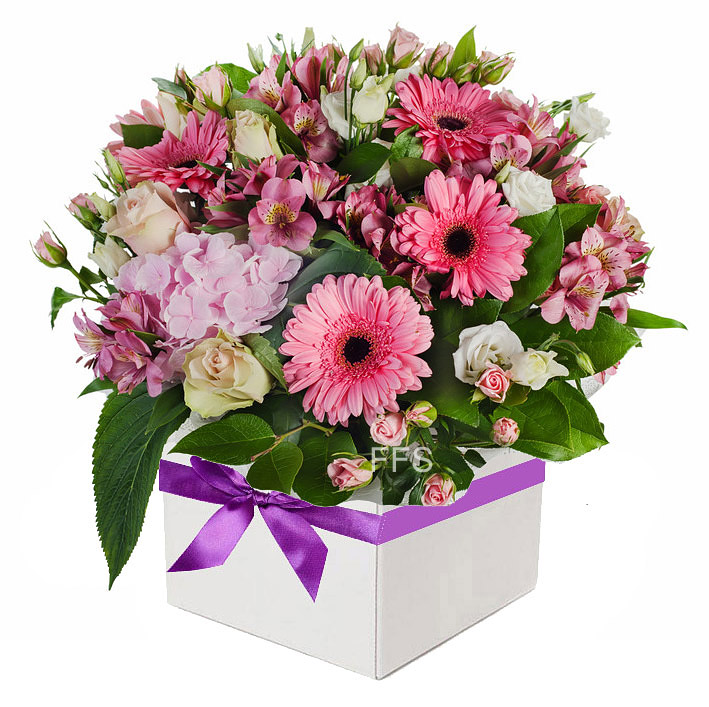 Assorted Pink Flower Arrangement