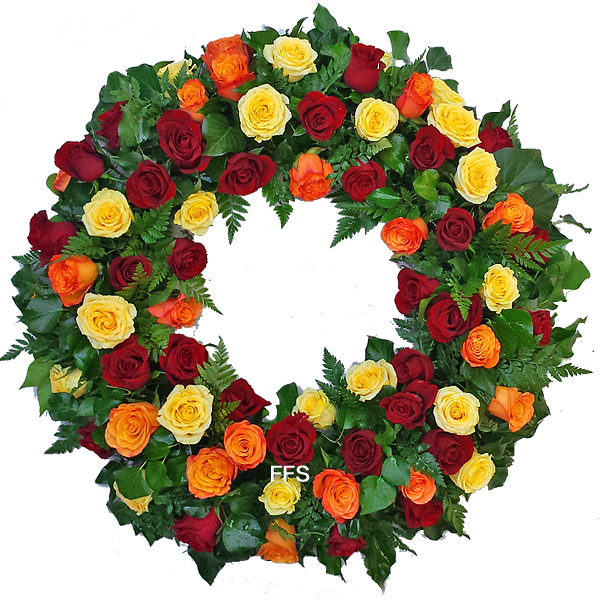 Premium Rose Wreath