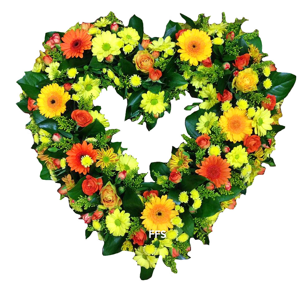 Bright Wreath in Assorted Colours