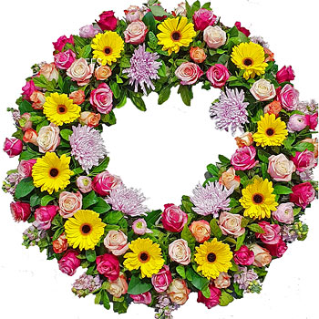 Bright Wreath for a Lady